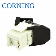 Conector FutureCom™ V250 Unshielded RJ45 Cat.6 UTP, white, w/ 3 cable entries