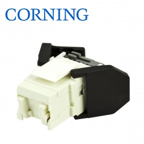 Conector FutureCom™ V250 Unshielded RJ45 Cat.6 UTP, white, w/ 3 cable entries Sisteme Cablare Structurata