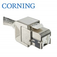 Conector 3M Volition RJ45 K6A jack STP with straight cable entry
