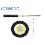 Cablu fibra optica LanScape SM 8 fibre, In/Out