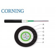 Cablu fibra optica ClearCurve® MM OM3 50/125, 8 fibre, In/Out