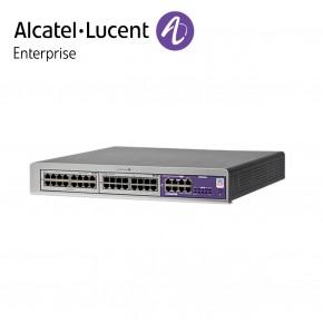 Centrala telefonica IP | TDM Alcatel-Lucent OmniPCX Office Connect in configuratie echipata 8 linii externe si 36 linii interne | Cabinet S (3 sloturi) Echipamente Telecomunicatii