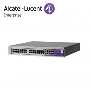 Centrala telefonica IP | TDM Alcatel-Lucent OmniPCX Office Connect in configuratie echipata 4 linii externe si 12 linii interne | Cabinet S (3 sloturi) Echipamente Telecomunicatii