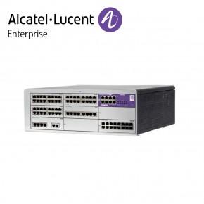 Centrala telefonica IP   TDM Alcatel-Lucent OmniPCX Office Connect in configuratie echipata 1 acces primar ISDN si 56 linii interne   Cabinet L (9 sloturi) Echipamente Telecomunicatii