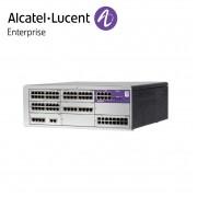 Centrala telefonica IP | TDM Alcatel-Lucent OmniPCX Office Connect in configuratie echipata 8 linii externe si 56 linii interne | Cabinet L (9 sloturi).