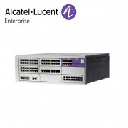 Centrala telefonica IP | TDM Alcatel-Lucent OmniPCX Office Connect in configuratie echipata 1 acces primar ISDN, 8 linii externe si 88 linii interne | Cabinet L (9 sloturi)