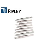 7SA Tweezers - Stainless Curve Tips