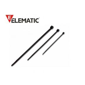 Brida plastic 2,5 x 98 black (100buc) Solutii Management Cabluri