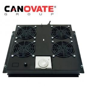 """Tava cu 2 ventilatoare si termostat pentru rackurile floor-standing, DULAPURI  DE  COMUNICATIE 19"""""""