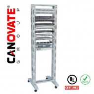 "19"" RELAY & OPEN RACK 26U Single Frame"