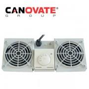 Tava cu 1 ventilator si termostat pentru rackurile wall-mount