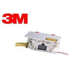 FO Splicing cassette - w/strain relief (caseta cu ghid fibra) Solutii Fibra Optica