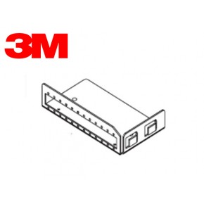 SC Simplex Mounting Plate for 12 Couplings Solutii Fibra Optica