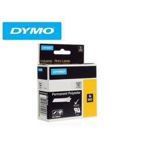 Poliester permanent  24 mm x 5,5 m, transparent, RHINO 6000 Solutii Management Cabluri