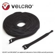 Velcro® ONE-WRAP® strap, negru, 20x230mm (250 buc/rola)