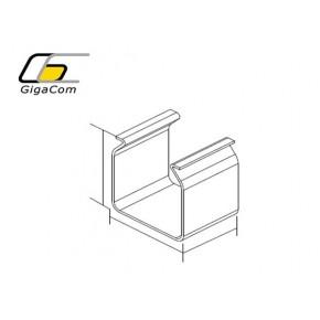 Element imbinare | Fitting Splice 50mm Yellow Solutii Management Cabluri