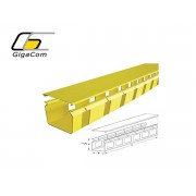 Canal cu fante | Duct with cut out on 100mm pitch 100mm x 1800mm