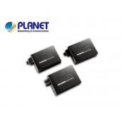 10/100TX - 100Base-FX (SC) Single Mode Bridge Fiber Converter - 15KM, LFPT