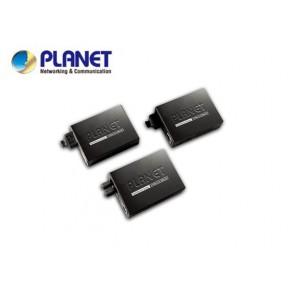 10/100TX - 100Base-FX (WDM) Bi-directional Fiber Converter - 1550nm - 20KM, LFPT Echipamente Active