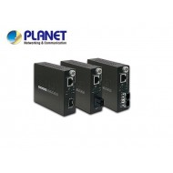 10/100/1000Base-T to WDM Bi-directional Smart Fiber Converter - 1310nm - 60KM
