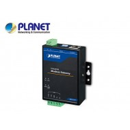 Industrial 2-port RS422/485 Serial to Ethernet Modbus Gateway, -40 to 75 degrees C, 9-48V DC