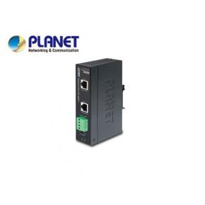 IP30, Industrial Single Port 10/100/1000T 95W Ultra PoE Splitter - 12V & 24V (-40 to 75 C, 8023bt type 4) Echipamente Active