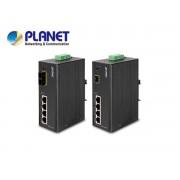 IP30 4-Port/TP+1-Port Fiber(SFP) Web/Smart POE Industrial Fast Ethernet Switch (-10 to 60 C)
