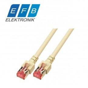 Patch cord cat.6 S/FTP, 2xRJ45, 250MHz, LSZH, 0.15m gri Sisteme Cablare Structurata