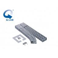 Cable-Snake® Cube MX Set1 -125, argintiu