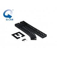 Cable-Snake® Cube MX Set1 -75, negru