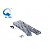 Cable-Snake® Cube MX Set2 -75, argintiu