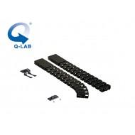 Cable-Snake® Cube MX Set2 -125, negru