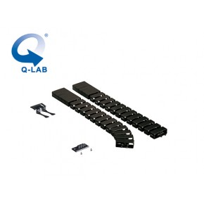 Cable-Snake® Cube MX Set2 -125, negru Solutii Management Cabluri