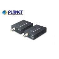 1-Port Long Reach POE over Coax Extender Kit (LRP-101CH+LRP-101CE), -20 to 70 Degree C, up to 1KM