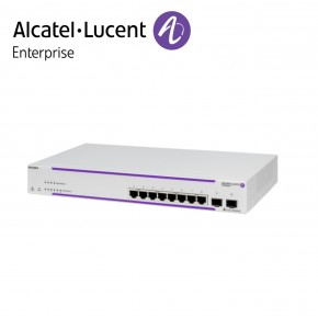 Alcatel-Lucent OmniSwitch OS2220 WebSmart 8 porturi RJ-45 10/100/1G BaseT, 2xSFP ports Echipamente Networking