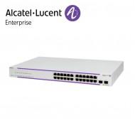 Alcatel-Lucent OmniSwitch OS2220 WebSmart 24 porturi PoE RJ-45 10/100/1G BaseT, 2xSFP ports (190W PoE budget)