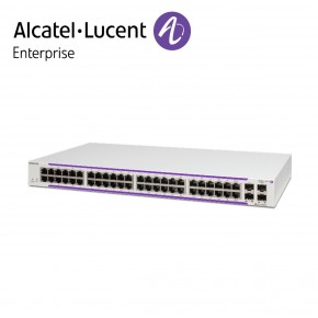 Alcatel-Lucent OmniSwitch OS2220 WebSmart 46 porturi PoE RJ-45 10/100/1G BaseT, 2xPoE RJ-45/SFP combo, 2xSFP ports (390W PoE budget) Echipamente Networking