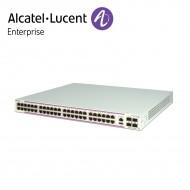 Alcatel-Lucent OmniSwitch 6350 48 porturi PoE 10/100/1000 BaseT ports si 4 porturi Gigabit SFP