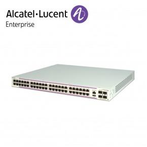 Alcatel-Lucent OmniSwitch 6350 48 porturi PoE 10/100/1000 BaseT ports si 4 porturi Gigabit SFP Echipamente Networking