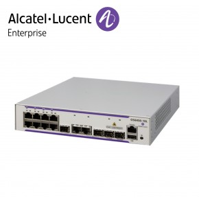 Alcatel-Lucent OmniSwitch 6450 8 porturi RJ-45 10/100/1000 BaseT, 2 SFP/RJ-45 combo, 2 SFP Gigabit ports Echipamente Networking