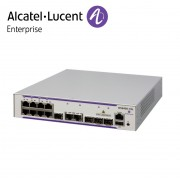Alcatel-Lucent OmniSwitch 6450 8 porturi PoE RJ-45 10/100/1000 BaseT, 2 SFP/RJ-45 combo, 2 SFP Gigabit ports