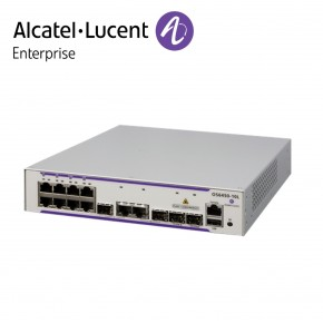 Alcatel-Lucent OmniSwitch 6450 8 porturi PoE RJ-45 10/100/1000 BaseT, 2 SFP/RJ-45 combo, 2 SFP Gigabit ports Echipamente Networking