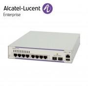 Alcatel-Lucent OmniSwitch 6450 8 porturi PoE RJ-45 10/100/1000 BaseT (75W on 4), 2 SFP Gigabit ports