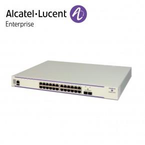 Alcatel-Lucent OmniSwitch 6450 24 porturi PoE 10/100/1000 BaseT, 2 SFP+ 1G/10G ports, one expansion slot Echipamente Networking