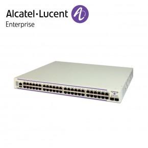 Alcatel-Lucent OmniSwitch 6450 48 porturi PoE 10/100 BaseT, 2 SFP+ 1G/10G ports, one expansion slot Echipamente Networking