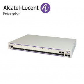 Alcatel-Lucent OmniSwitch 6450 22 porturi 100/1000 Base-X SFP ports, 2 SFP/RJ45 combo, 2 SFP+ 1G/10G ports, one expansion slot Echipamente Networking