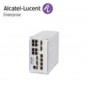 Alcatel-Lucent OmniSwitch 6465 industrial GigE fan-less 8x10/100/1000 Base-T RJ-45 PoE+ (4x60W PoE), 4x100/1000 Base-X SFP