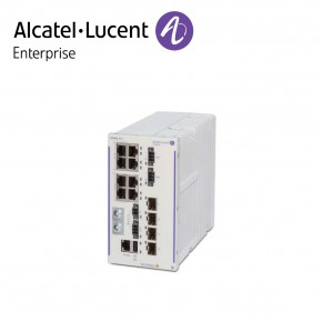 Alcatel-Lucent OmniSwitch 6465 industrial GigE fan-less 8x10/100/1000 Base-T RJ-45 PoE+ (4x60W PoE), 4x100/1000 Base-X SFP Echipamente Networking