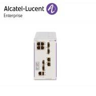 Alcatel-Lucent OmniSwitch 6465 industrial GigE fan-less 4x10/100/1000 Base-T RJ-45 PoE+ (2x60W PoE), 2x100/1000 Base-X SFP