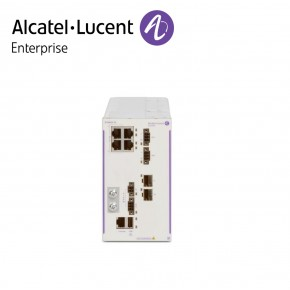 Alcatel-Lucent OmniSwitch 6465 industrial GigE fan-less 4x10/100/1000 Base-T RJ-45 PoE+ (2x60W PoE), 2x100/1000 Base-X SFP Echipamente Networking